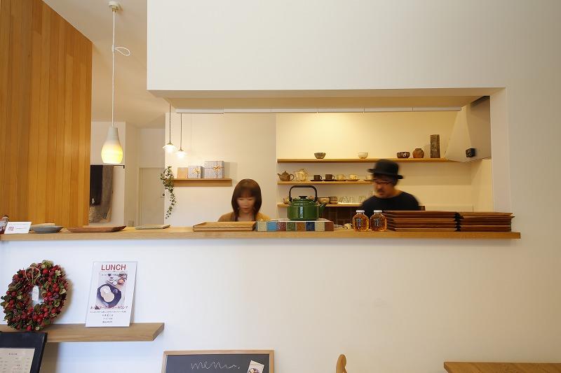 カフェ兼雑貨ショップ併用住宅