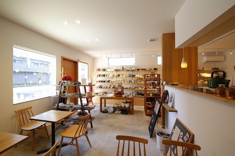 78 カフェ兼雑貨ショップ併用住宅